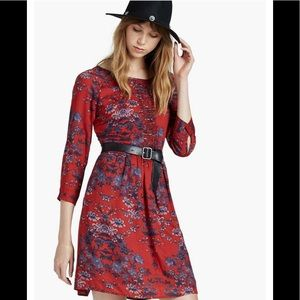 Lucky Brand floral macrame dress